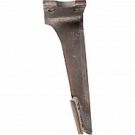 KE0503C2 Ząb brony aktywnej, lewy, z węglikiem spiekanym
