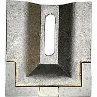 AB960279CN Skrobak wału, z węglikiem spiekanym, 85 mm