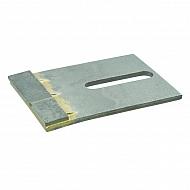 AB130001CN Skrobak wału, z węglikiem spiekanym, 80 x 120 mm