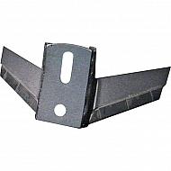 13100043CN Podcinacz skrzydełkowy, z węglikiem spiekanym, 320x6 mm