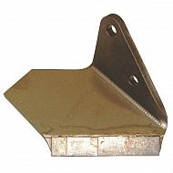 34060855HKR Lemieszyk boczny agregatu, wąski, prawy, z węglikiem spiekanym
