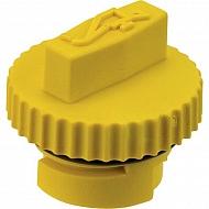 2422702S Korek wlewu oleju, żółty