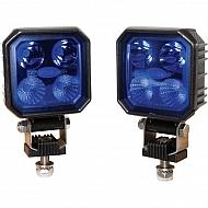 LA10001 Lampa robocza LED, 1000 lm niebieska
