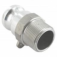 """HCN100FAL032 Końcówka węża Camlock typ F aluminium, gwint wew. 1 1/4"""""""
