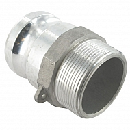 """HCN100FAL051 Końcówka węża Camlock typ F aluminium, gwint wew. 2"""""""