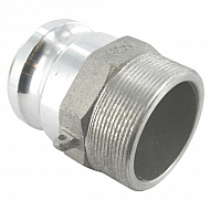 """HCN100FAL063 Końcówka węża Camlock typ F aluminium, gwint wew. 2 1/2"""""""