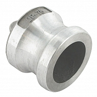 "HCN100HAL019 Zaślepka Camlock typ V aluminium, 3/4"""