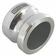"HCN100HAL051 Zaślepka Camlock typ V aluminium, 2"""