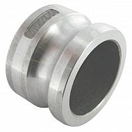 "HCN100HAL063 Zaślepka Camlock typ V aluminium, 2 1/2"""
