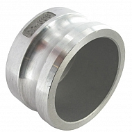 "HCN100HAL076 Zaślepka Camlock typ V aluminium, 3"""