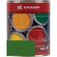 601008KR Lakier, farba na przyczepę zielona, zielony soczysty 1L RAL6010 KRAMP, Pronar, UNIA