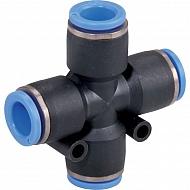CC6P Złącze wtykowe poczwórne 6mm