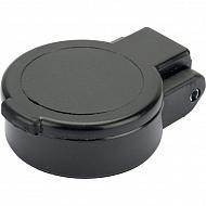 SKV9F121 Pokrywa gniazda ISO12,5 bez otworu - czarna, SZ106A1
