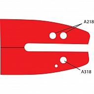 "542313 Prowadnica PowerSharp 14"" A318"