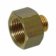 I00092 Adapter redukcyjny, wew./zew. 1/2 14NPTF - M16x1