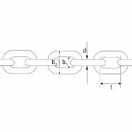KG1035 Łańcuch o dużej wytrzymałości 10x35 mm