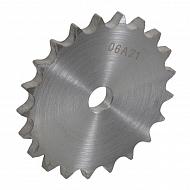 """PW3818 Tarcza koła łańcuchowego pojedyńcza DIN 8187 3/8"""" x 7/32"""", 18 zębów"""