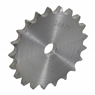 """PW3857 Tarcza koła łańcuchowego pojedyńcza DIN 8187 3/8"""" x 7/32"""", 57 zębów"""