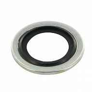 TT85X134X1 Pierścień Usit, podkładka metalowo-gumowa 8,5x13,4x1,0,