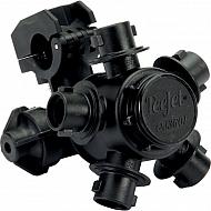 QJ365C25MMNYB Uch.dyszy, 5 przyłączy dyszy 25 mm