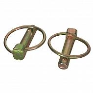 LP4KR Zawleczka składana ocynk Kramp, 4,5mm