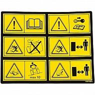 1143574281 Naklejka ostrzegawcza