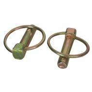 LP9KR Zawleczka składana ocynk Kramp, 9mm