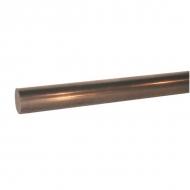HAC221 Wał chromowany na twardo 22 mm 1 m