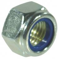 9851215 Nakrętka samohamowna drobnozwojna kl. 8 ocynk Kramp, M12x1,5