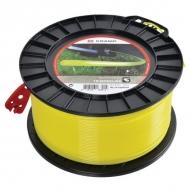 NL30281RKR Żyłka nylonowa okrągła żółta Kramp, 3 mm 281 m