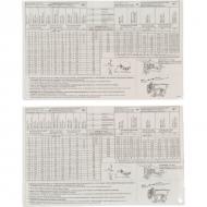 AC496995 Zdejmowana tabela nastawcza