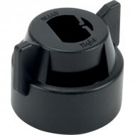 CP1144401CE Pokrywka dyszy czarna, 8 mm