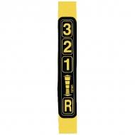 ET12181 Naklejka Wskaźnik biegów