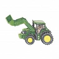S01341 Traktor John Deere z ładowaczem, SIKU