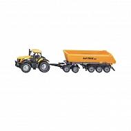 S01858 Traktor JCB z przyczepą, SIKU