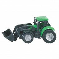 S01043 Traktor DEUTZ-FAHR z ładowaczem, SIKU