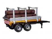U02213 Przyczepa do transportu drewna