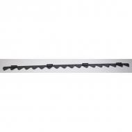 2570520 Nóż koszący z zębami 1,37 m ESM