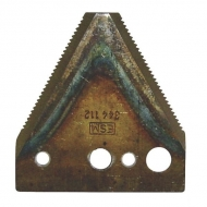 3440791AD Nóż 2 mm, zęby na dole