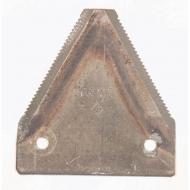 80GEZ Nożyk kosy dolnoryflowany, 2 mm, gładki