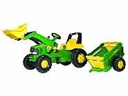 1993811496 Traktor John Deere z przyczepą i ładowaczem