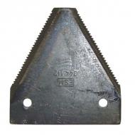 3441121 Nóż 2 mm, zęby na dole