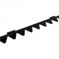 2590960 Nóż koszący z zębami 1,60 m ESM