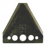 3443091 Nóż 2 mm, zęby na dole