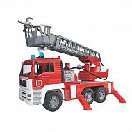 U02771 Wóz strażacki MAN z drabiną i sygnałem