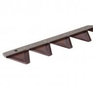 1008570KR Nóż koszący z zębami 1,60 m Aebi