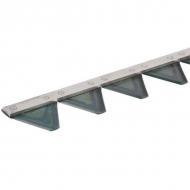 257016KR Nóż koszący z zębami 1,60 m Rapid