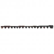 3158713R91 Nóż koszący, zęby na dole