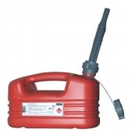 SP21131 Kanister HDPE czerwony Pressol, 5 l