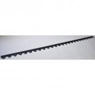 95710035 Połówka noża lewa 4,00 m, zęby u góry MS
